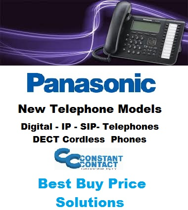 Panasonic New Digital IP SIP DECT Cordless Telephones