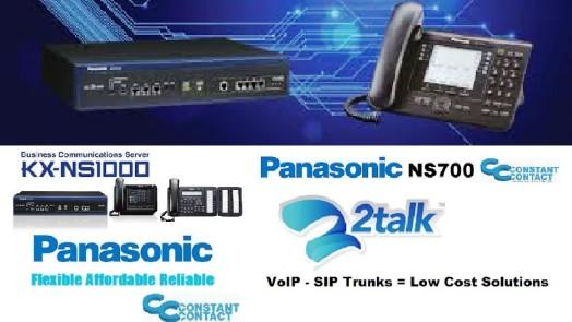 Panasonic NS700 NS1000 2talk Solutions