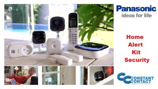Panasonic Home Alet Kit Home Security Network System