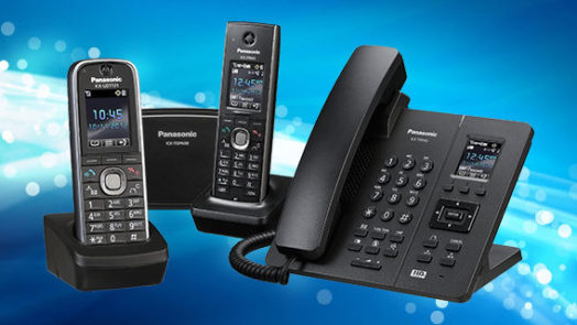 Panasonic hosted cloud phone system
