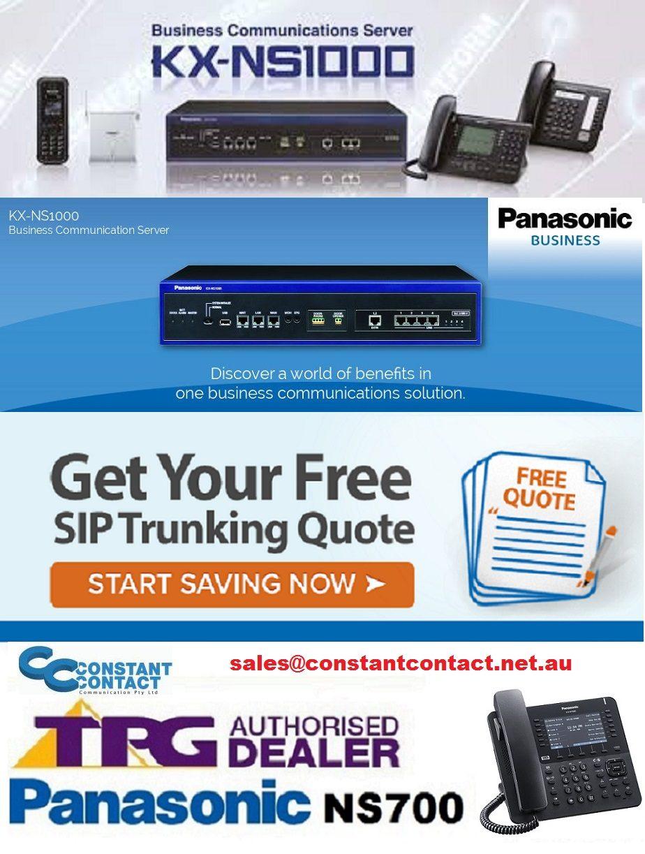 Panasonic Business Communication Server
