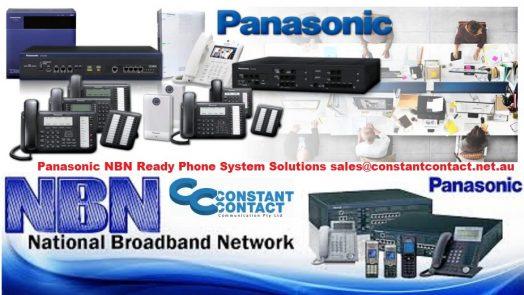 Panasonic nbn phone systems